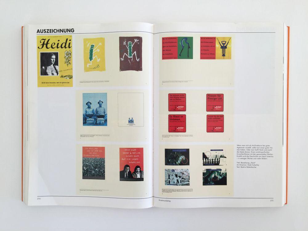Heidi im Buch