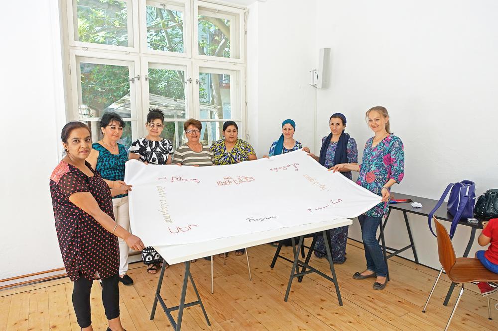 Flüchtlingsfrauen
