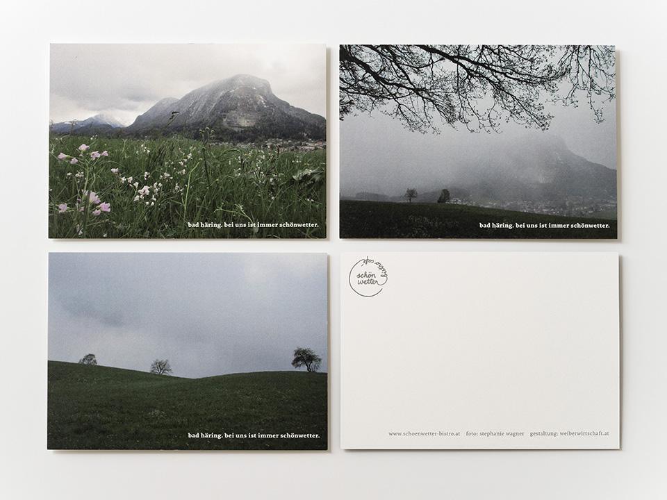 Schönwetter Postkarten