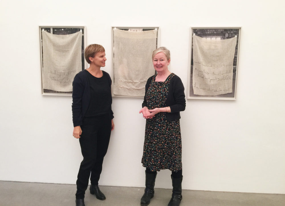 Iris Andraschek und Heidi Sutterlüty-Kathan