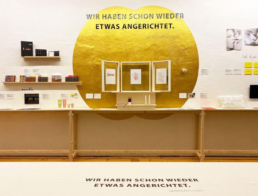 Ausstellung im Weissraum